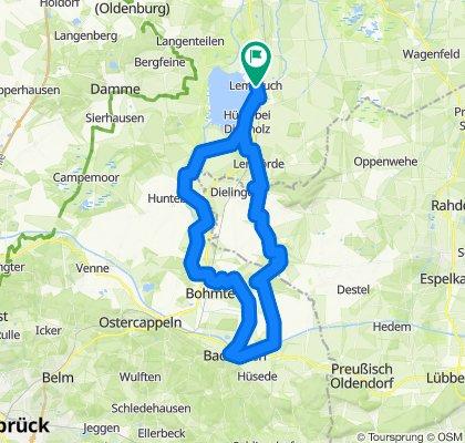 Sommer-Radtour am Dümmer See, Teil 4