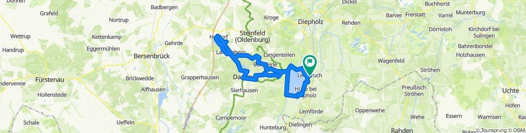 Sommer-Radtour am Dümmer See, Teil 3