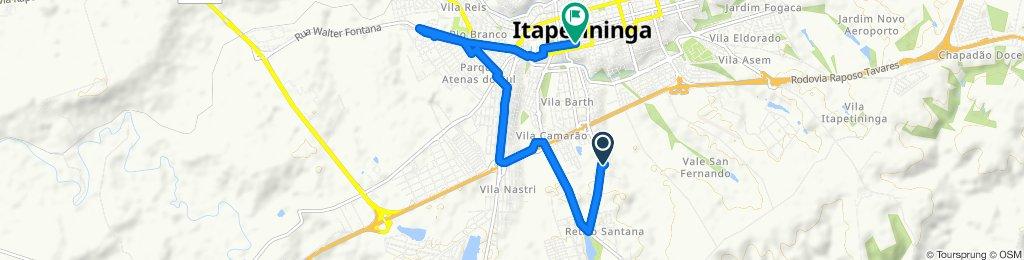Passeio rápido em Itapetininga