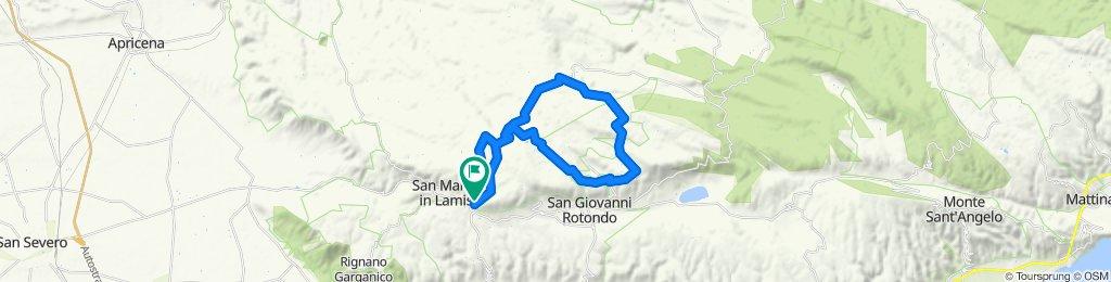 Da Bosco Chiancate alle pendici di Monte Calvo