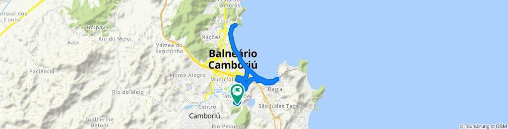 Rota moderada em Balneário Camboriú