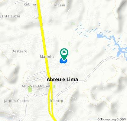 Estrada Iaman, 78–176, Abreu e Lima to Estrada Iaman, 78–176, Abreu e Lima