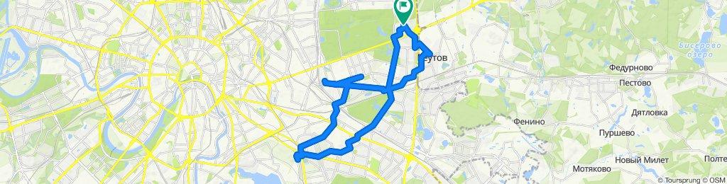 Суматошные охладевшие велоездки Реутов - ВАО-ЮВАО 27 01 2020