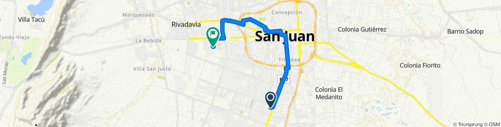 San Roque 1602–1700, Rawson to Agrimensor Marcelo García, Rivadavia