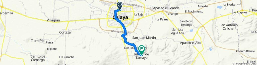 Ruta moderada en Rincón de Tamayo