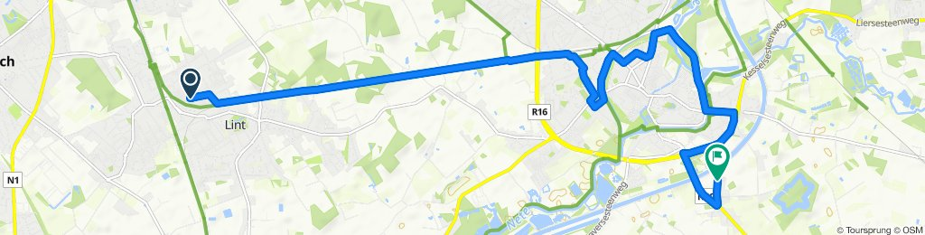 Uitbreidingstraat 108, Lint to Schollebeekstraat 56, Lier