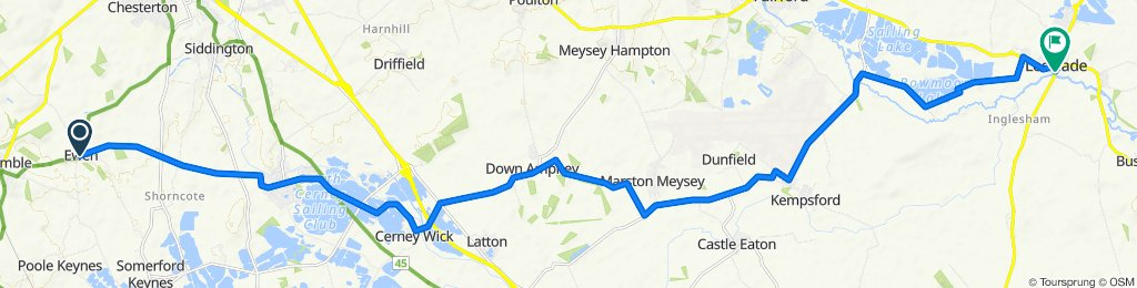 Ewen to Lechlade