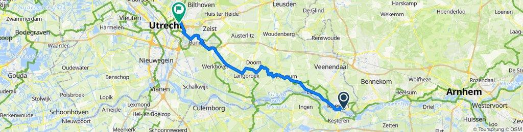 EU 04 _ Rhenen - Utrecht _ 44 km