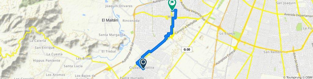 Paseo rápido en Maipú