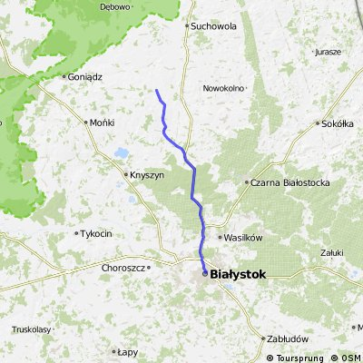 Białystok - Bobrówka