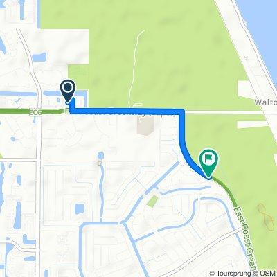 2379 SE Breckenridge Cir, Port Saint Lucie to 1460 SE Berkshire Blvd, Port Saint Lucie