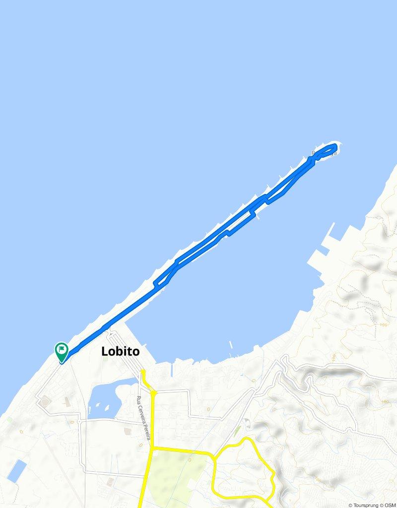 Avenida Governador Silva Carvalho, Lobito to Avenida Governador Silva Carvalho, Lobito