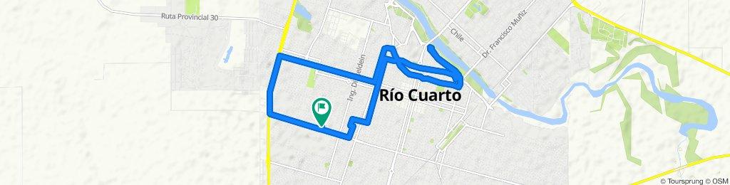 Roque Saenz Peña 1541–1599, Río Cuarto to Roque Saenz Peña 1540–1598, Río Cuarto
