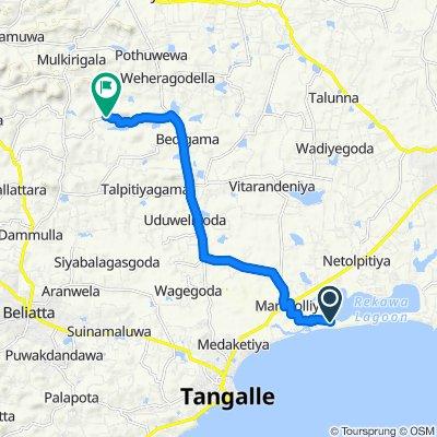 Easy ride in Mulgirigala