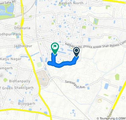 Moderate route in Kolkata
