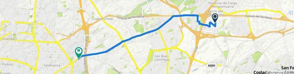 Ruta moderada en Madrid