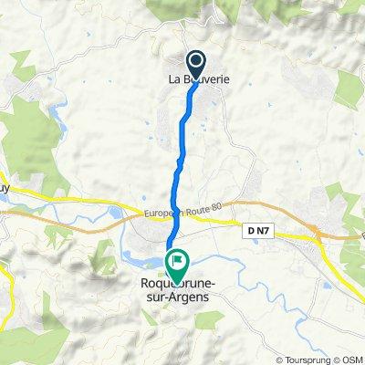 Cracking ride in Roquebrune-sur-Argens