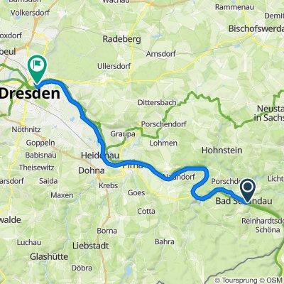 Bad Schandau - Dresden