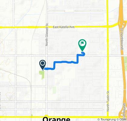 Easy ride in Orange