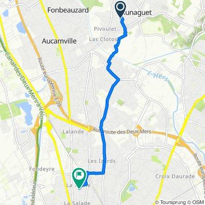 Route stable en Toulouse