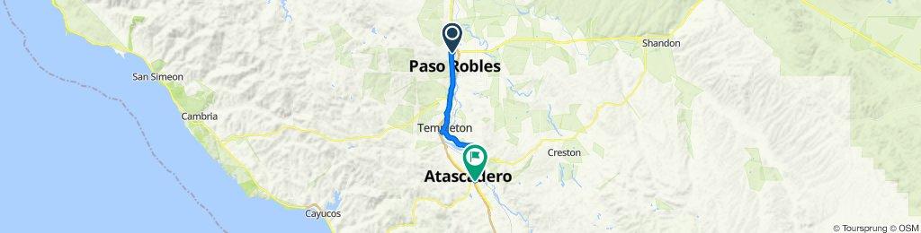 Paso to Atascadero