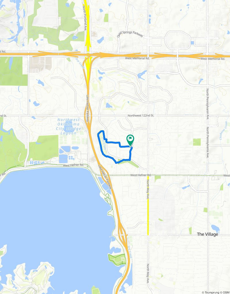 3101–3299 Willow Brook Rd, Oklahoma City to 3109 Willow Brook Rd, Oklahoma City