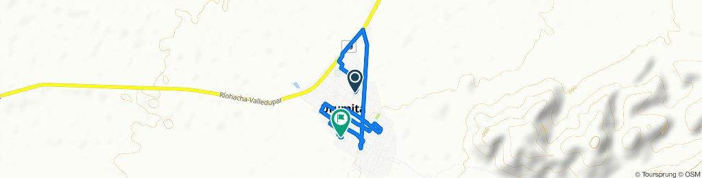 Paseo lento en Urumita