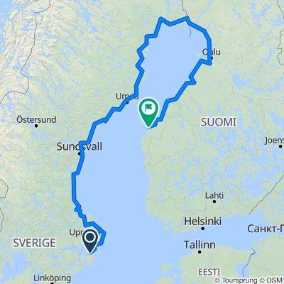 Stockholm to Helsinki