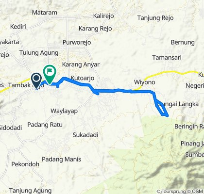 Steady ride in Kecamatan Gading Rejo