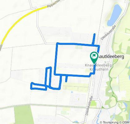 Gemütliche Route in Leipzig