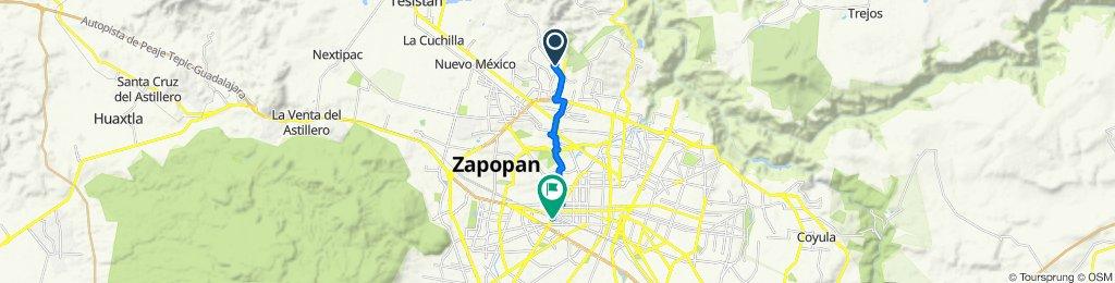 Paseo lento en Guadalajara