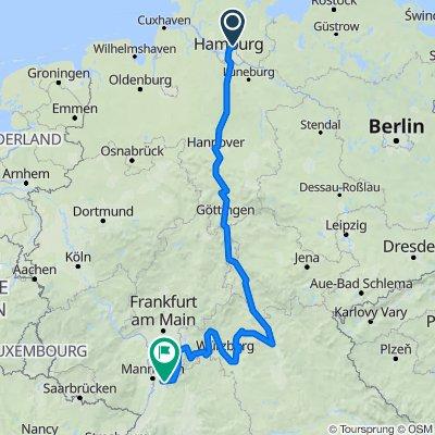 Radtour2019 HH-Heidelberg