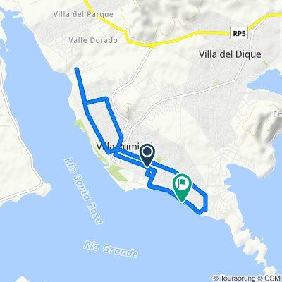 Ruta tranquila en Calamuchita