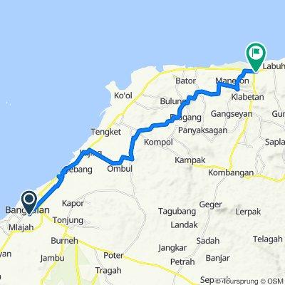 Moderate route in Sepulu