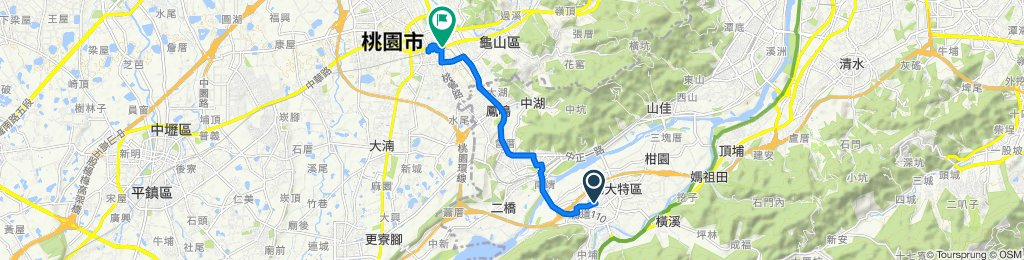 Easy ride in Taoyuan District
