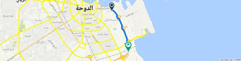 Steady ride in Al Wakrah