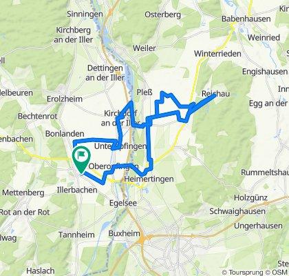 Moderate Route um Berkheim