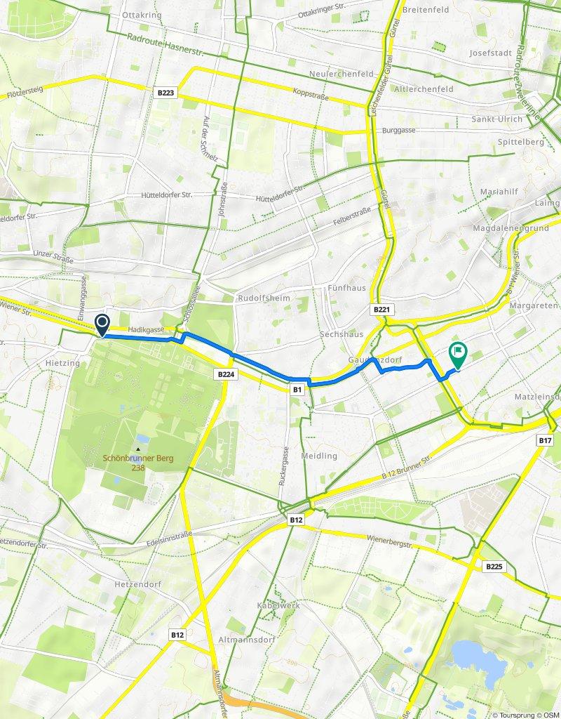 Pomalá jazda Wien