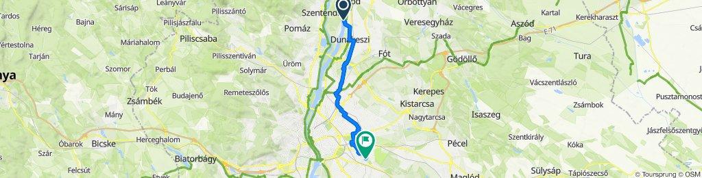 Rév út, Dunakeszi to Agyagfejtő utca, Budapest X. kerület