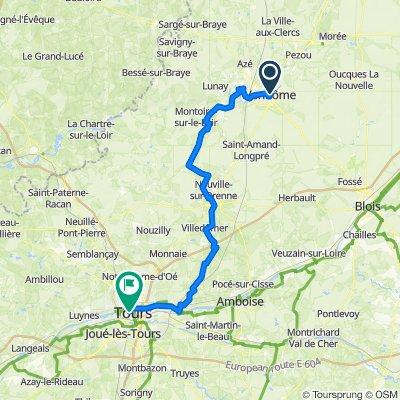 EU 19 _ Vendome - Tours _ 89 km
