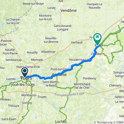 EU 20 _ Tours - Blois _ 71 km