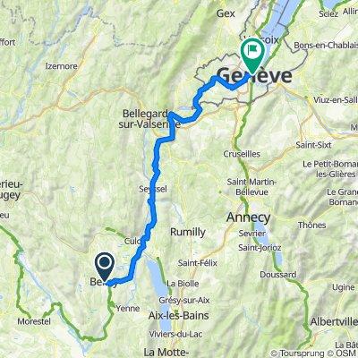 EU 32 _ Belley - Genf _ 93 km