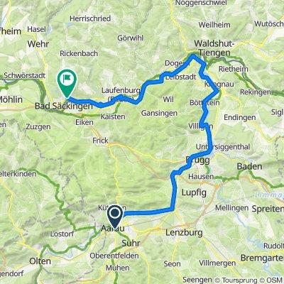 EU 37 _ Aarau - Bad Säckigen _ 69 km