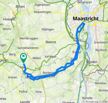 2020 4SB Via Jecora naar Maastricht