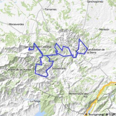 Tour  Sierra de Francia