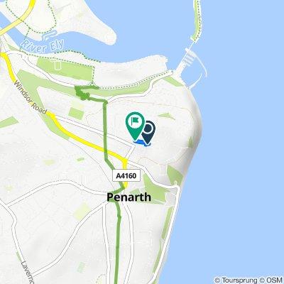 26 Clive Place, Penarth to Alcedonia, Albert Road, Penarth