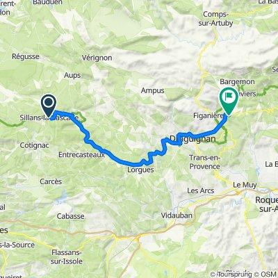 15 March 45km Sillans-la-Cascade - Callas