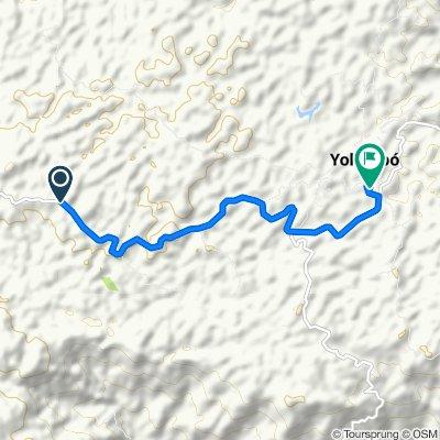 Ruta deportiva en Yolombó