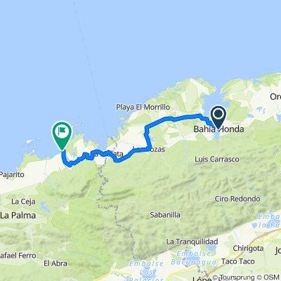 Bahia Honda nach Palma Rubia