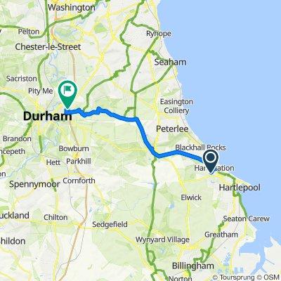 Moderate route in United Kingdom